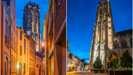 Torenverlichting met energiezuinige lampen eerste keer uitgetest