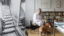 """Christo maakte ook in Antwerpen kunst: """"Maar zijn ingepakte trap moest na vier dagen al weg"""""""