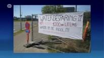 """Buurtbewoners klagen waterverspilling van werf aan: """"Duizenden liters water"""""""
