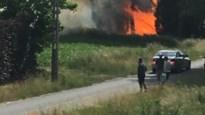 Brandweer druk in de weer met natuurbrandjes