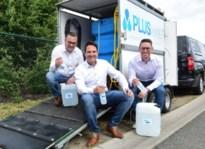 PLUSwater maakt desinfectiemiddel van leidingwater, bedrijven kunnen mobiele machine huren