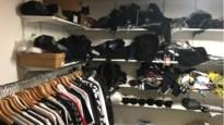 Politie neemt namaakkledij en 9.000 euro in beslag