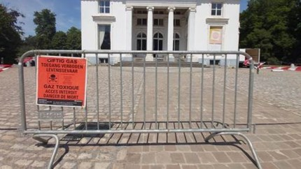 Omgeving kasteel in Edegem verboden wegens giftig gas
