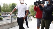 Diego Costa (met mondmasker) wil celstraf wegens belastingontduiking afkopen