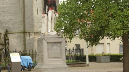 Standbeeld Leopold II verhuist na brandstichting