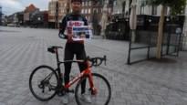 Wielrenner Frederik Frison test fotozoektocht 'Van Bel tot Zammel'