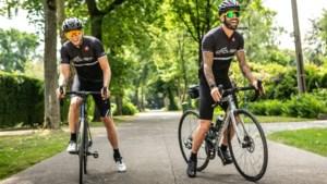 Op tocht met Steven Defour en Ritchie De Laet, de fietsbuddy's van Antwerp FC