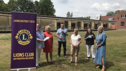 Lions Club Antwerpen-Belpaire doet gulle schenking