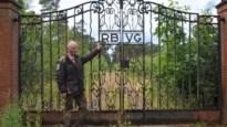 Wat doet historische poort van Beerschotstadion in bos in Oostmalle?