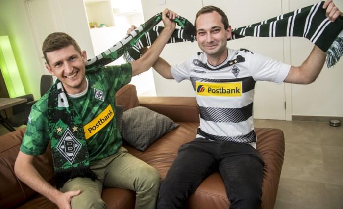 Kempenaars moedigen voetbalclub op hetzelfde moment thuis én in stadion aan