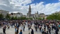 700 mensen nemen deel aan Black Lives Matter-betoging op Groenplaats