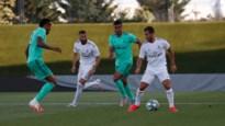 Eden Hazard maakt wederoptreden in onderlinge oefenwedstrijd bij Real Madrid