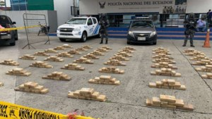 Partij cocaïne voor Antwerpen onderschept in Ecuador