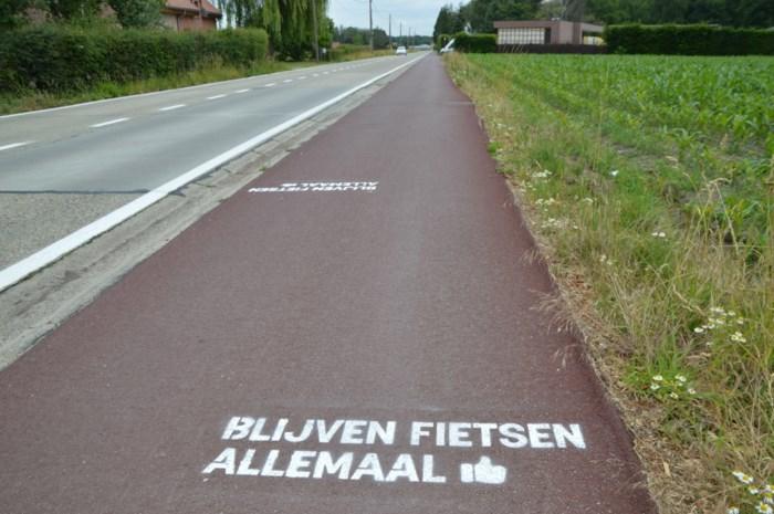 Blijven fietsen allemaal