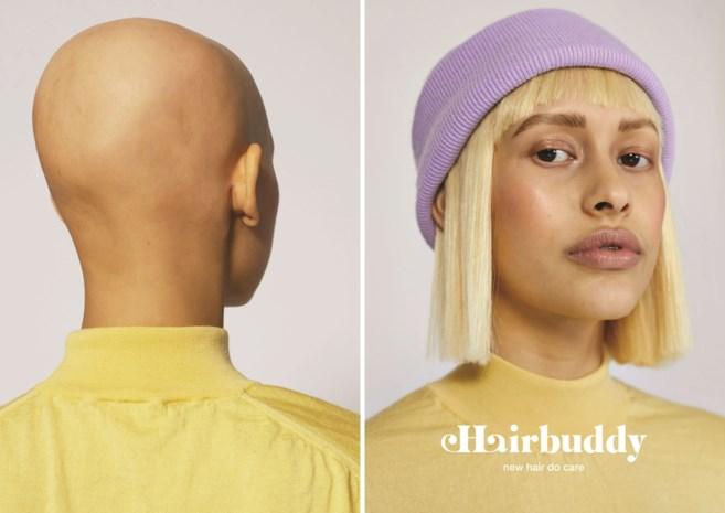 Haarverlies, maar geen zin in pruik? Vlaamse kapster ontwerpt mutsen met echte lokken erin