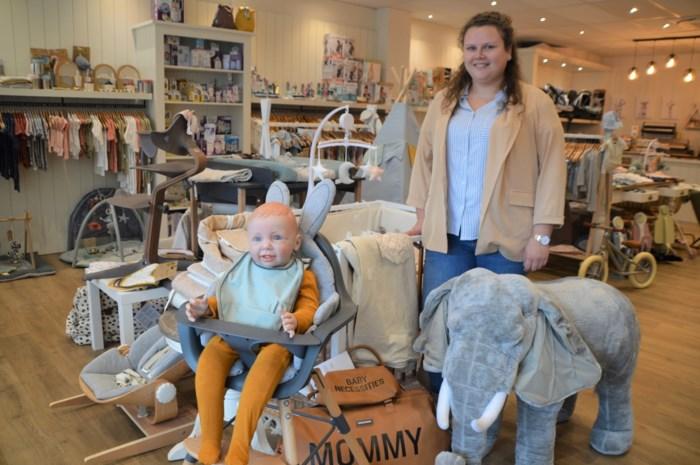 Babyspeciaalzaak Den UkkePuk geboren op steenworp van kraamkliniek