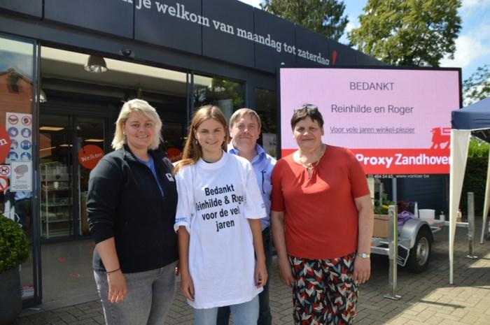 Na zestig jaar nooit meer naar 'de Paenhuysen': Reinhilde en Roger geven hun bekende supermarkt over aan Claudia