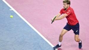 David Goffin verliest op sudden death van Richard Gasquet in Ultimate Tennis Showdown