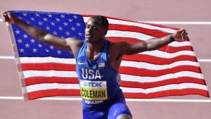 Topsprinter Christian Coleman riskeert nu toch schorsing na nieuwe inbreuk tegen dopingregels