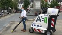 Stad zet 25 zwerfvuilzuigers in voor propere straten