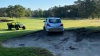 Bestuurder rijdt zich vast op … golfbaan in Kapellen