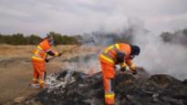 Belgische brandweerpakken voor Zuid-Afrikaanse rangers in natuurreservaat