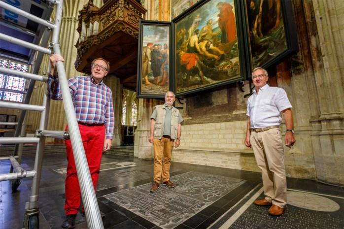 Restaurateurs nemen een van Rubens' topwerken onder handen