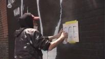 """Matthias Schoenaerts leeft zich uit met graffiti in gevangenis: """"Leven in de brouwerij brengen"""""""