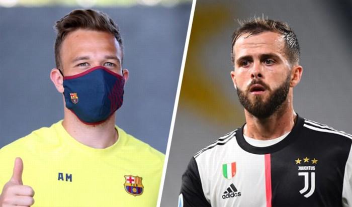 Juventus en Barcelona maken ruildeal ter waarde van 147 miljoen euro bekend: Arthur en Pjanic wisselen van ploeg