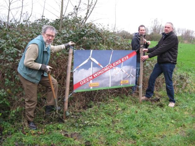 W-Kracht dient opnieuw bouwaanvraag in voor windmolens E19