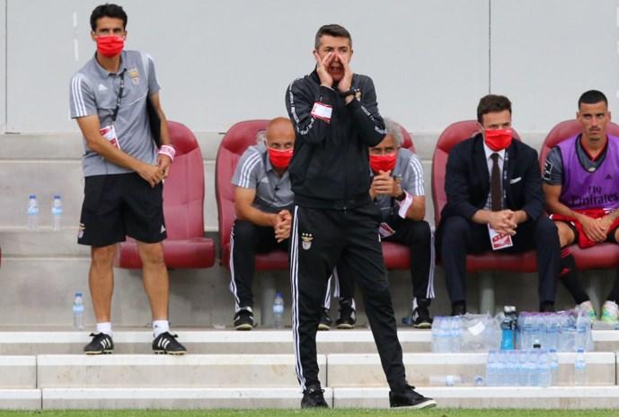 Benfica-coach dient ontslag in na mogelijk cruciale nederlaag