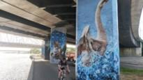 Streetart langs Albertkanaal eert vermoorde Julie Van Espen