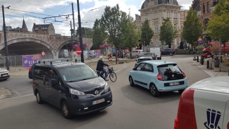 """""""Aangekondigde chaos"""": heel Antwerpen staat stil"""