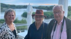 En plots stappen Albert en Paola binnen voor een etentje bij Café d'O in Sint-Amands