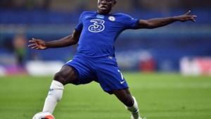 Chelsea-middenvelder N'Golo Kanté is out met hamstringblessure