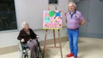 Bewoners dompelen woonzorgcentrum onder in kleurexplosie met eigen werk