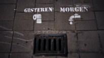 Waterrebellen brengen tags aan in heel Antwerpen