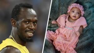 'Olympia Bliksemschicht': Usain Bolt heeft wel een heel bijzondere naam voor pasgeboren dochter