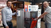 """Schotens bedrijf lanceert carwash voor winkelwagentjes: """"Karretje ontsmet in drie seconden"""""""