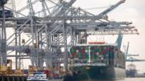 Terugval in goederenoverslag blijft beperkt in Antwerpse haven
