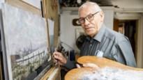 """Havenschilder Leon Ost (81): """"Als je opgroeit in het Schipperskwartier, gaat de lokroep van het water er nooit uit"""""""
