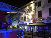 Appartement ontruimd na brand in slaapkamer