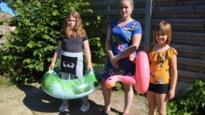 """Dieven stelen zwembad uit achtertuin in Pulderbos: """"Heel zuur voor onze kindjes"""""""