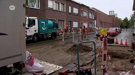 Straat op het Kiel alweer getroffen door waterellende, Water-Link belooft oplossing