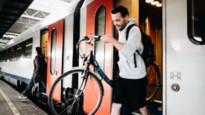 Maatregel te populair: gratis fiets op trein enkel nog buiten spitsuren