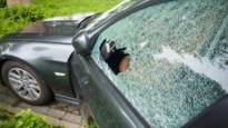 Inbraak in geparkeerde auto op oprit