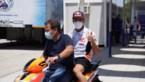 Amper vier dagen na armoperatie staat wereldkampioen MotoGP Marc Marquez gewoon weer aan de start