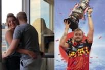 'Dancing Dimi' gooit twee keer in de roos: winst in groot dartstoernooi én in de liefde