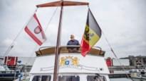 Ooit kapitein op de zeven wereldzeeën, nu een tevreden pleziervaarder