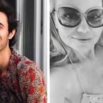 Gluren bij BV's: Zonnige groetjes van Niels Destadsbader, Lesley-Ann Poppe geniet van haar buikje